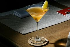 Daiquiri cubain de cocktail - l'espace pour le texte Images libres de droits