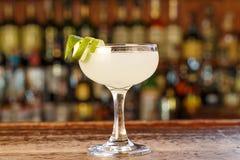 Daiquiri cubani del cocktail Fotografia Stock