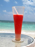 Daiquiri de fraise images stock