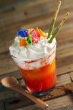 Daiquiri de fraise de mangue Photo stock