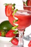 Daiquiri de fraise - la plupart de serie populaire de cocktails Photo stock