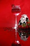 Daiquiri de morango suíço Imagens de Stock Royalty Free