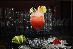 Daiquiri frozen strawberry Stock Photography