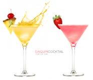 Daiquiri gefrorene Cocktails Spritzen lizenzfreies stockfoto
