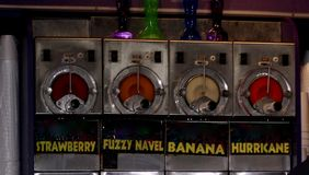 Daiquiri koktajli/lów Alkoholicznego napoju maszyna zdjęcie royalty free