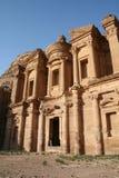 Dair. A very beautiful landmark in Jordan Stock Image