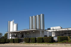 Dairy. Plant, Tracy, California Royalty Free Stock Images