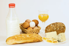 Free Dairy Breakfast Royalty Free Stock Photo - 16999055