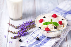 Dairy breakfast stock images