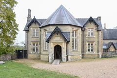 Wimpole Hall Farm Dairy building royalty free stock photo