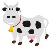 A dairy cow standing Royalty Free Stock Images