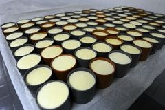 Dairy factory Stock Photos