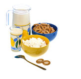 Dairy food Stock Image