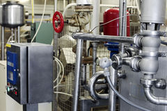 Dairy food-processing industry Royalty Free Stock Photo