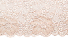 Dairy lace with floral pattern Stock Images