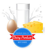 Dairy produce Stock Photos