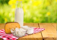Dairy product. Milk cheese yogurt food breakfast drink royalty free stock photography