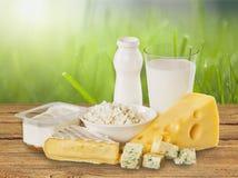Dairy product. Milk cheese yogurt food breakfast drink royalty free stock images