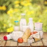 Dairy product. Milk cheese yogurt milk bottle food drink royalty free stock image