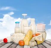 Dairy product. Milk cheese yogurt milk bottle food drink stock photography