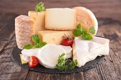 Dairy product, fresh cheese Stock Photography