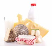 Dairy product Royalty Free Stock Photos