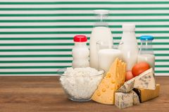 Dairy Product Stock Image