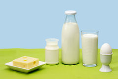 Dairy products Stock Photos