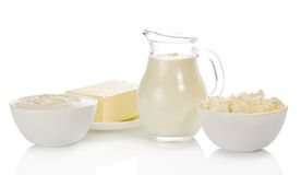 Dairy Products Royalty Free Stock Image