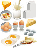 Dairy_products Immagini Stock