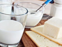 Dairy -products Royalty Free Stock Photography