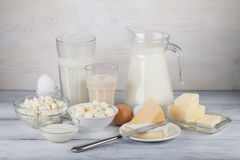 Dairy products Royalty Free Stock Photo