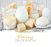 Dairy products. Royalty Free Stock Photography
