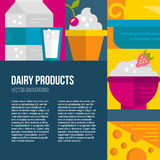 Dairy Products Stock Photography