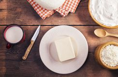 Dairy products Royalty Free Stock Images