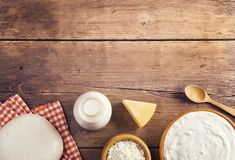 Dairy products Royalty Free Stock Photos