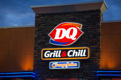 Dairy Queen Restaurant Exterior Stock Photos