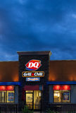 Dairy Queen Restaurant Exterior Royalty Free Stock Image