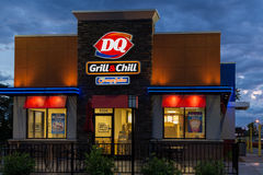Dairy Queen Restaurant Exterior Stock Photography