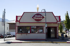 Dairy Queen Restaurant Stock Photo