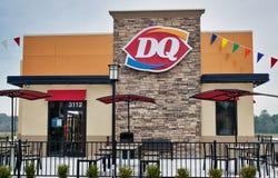 Dairy Queen restaurant storefront in Houston, TX.