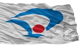 Daisen miasta flaga, Japonia, Akita prefektura, Odizolowywająca Na Białym tle royalty ilustracja