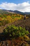 Daisetsuzan,最大的国家公园在日本 免版税库存图片