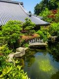 DaishÅ  - in Tempel in Miyajima, Japan Royalty-vrije Stock Foto's