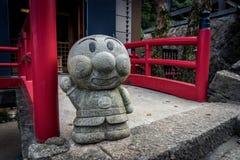 Daishio-no templo e na estátua imagens de stock royalty free