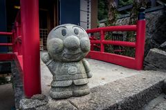 Daishio-in Temple and statue royalty free stock images