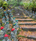 Daisho-nei motivi del tempio a Miyajima, il Giappone Fotografia Stock Libera da Diritti