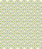 Daisies vector pattern Stock Photography