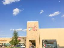 Daiso Japanse supermarkt in Carrollton, Texas, de V.S. Royalty-vrije Stock Fotografie