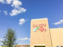 Daiso Japanse supermarkt in Carrollton, Texas, de V.S. Stock Fotografie